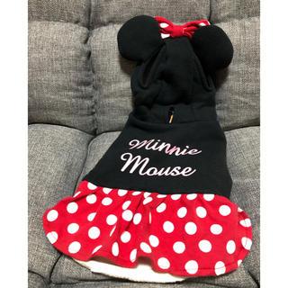 ディズニー(Disney)の3Sサイズ ミニーちゃんの犬用の服(ペット服/アクセサリー)