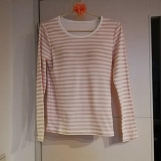 ジーユー(GU)のカップつきカットソー(Tシャツ(長袖/七分))