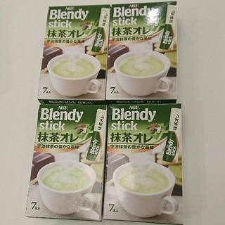 エイージーエフ(AGF)のみー姫様専用ブレンディスティック 抹茶オレ 28杯分(茶)