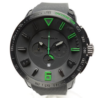 テンデンス(Tendence)のテンデンス TT560003 スポーツガリバー 腕時計 グリーン&ブラック(腕時計(アナログ))