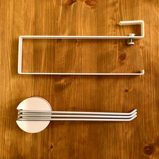 MUJI (無印良品) - キッチンペーパーホルダー&無印ふきんかけ