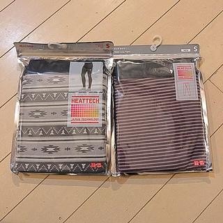 ユニクロ(UNIQLO)のヒートテック タイツ MEN Sサイズ  2枚セット(レギンス/スパッツ)