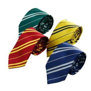 緑は欠品中!新品 ハリーポッター 風 ネクタイ ご希望色1本499円 コスプレ (小道具)