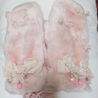 アンジェリックプリティー(Angelic Pretty)のパールリボンミトン(手袋)