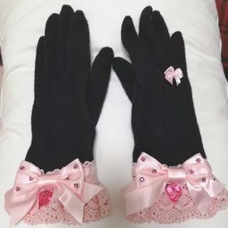 アンジェリックプリティー(Angelic Pretty)の宝石リボングローブ(手袋)