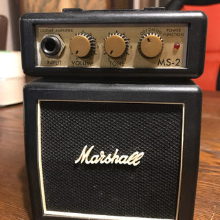Marshallアンプ 小マーシャル MS-2(ギターアンプ)