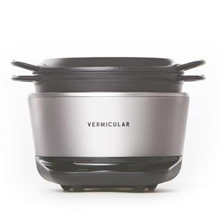 バーミキュラ(Vermicular)のVERMICULAR RICEPOT セット シルバー 保証書付(炊飯器)