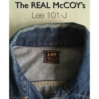 ザリアルマッコイズ(THE REAL McCOY'S)の[最終価格]McCoy x Lee 101-J 42 regular(Gジャン/デニムジャケット)