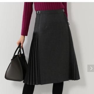 デミルクスビームス(Demi-Luxe BEAMS)のプリーツスカート(ひざ丈スカート)