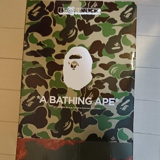 A BATHING APE(アベイシングエイプ)のベアブリック BAPE READY MADE 100 400 readymade エンタメ/ホビーのフィギュア(その他)の商品写真