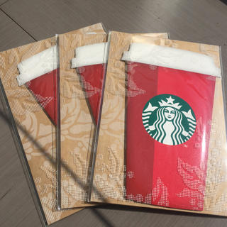 スターバックスコーヒー(Starbucks Coffee)のスタバホリデー2018レッドカップ ビバレッジカード(フード/ドリンク券)