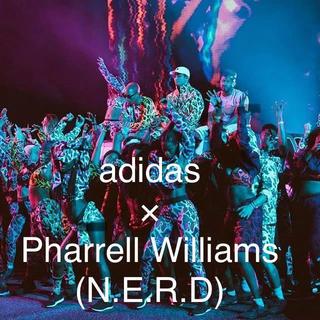 アディダス(adidas)の新品 ◆ N.E.R.D  × adidas カモフラ ロンT ファレル◆ (Tシャツ/カットソー(七分/長袖))