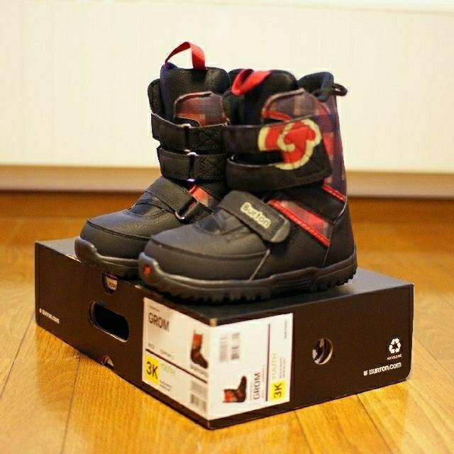 BURTON(バートン)のBURTON スノーボード キッズ GROM ブーツ 21cm スポーツ/アウトドアのスノーボード(ブーツ)の商品写真