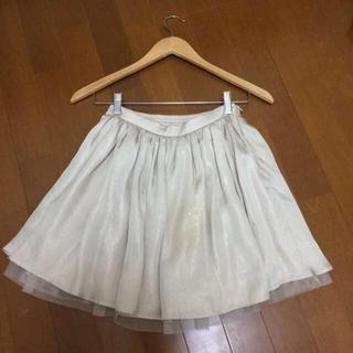 マーキュリーデュオ(MERCURYDUO)のチュールギャザースカート♡(ミニスカート)