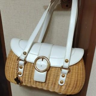 ジョイアス(Joias)の⭐新品⭐joias カゴバック かごバッグ bag チャーム付 バスケット(かごバッグ/ストローバッグ)