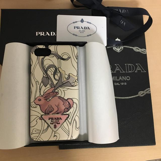 PRADA - 新品未使用☆PRADA iPhone7/8ケース ラビットプリントの通販 by mari's shop|プラダならラクマ