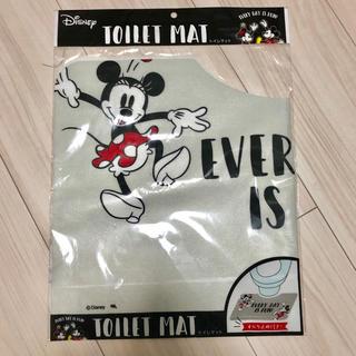 ディズニー(Disney)のディズニー☆トイレマット☆ミッキー☆ミニー☆滑り止め付(トイレマット)