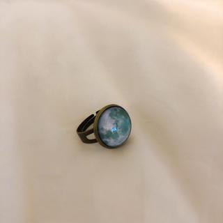 グリモワール(Grimoire)の❁ Vintage rétro Antique Moon ring(リング(指輪))