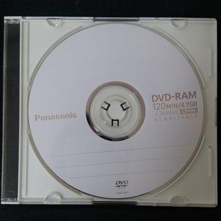 パナソニック(Panasonic)のDVD-RAMディスク10枚 1回録画後フォーマット済ビデオ用(DVDレコーダー)