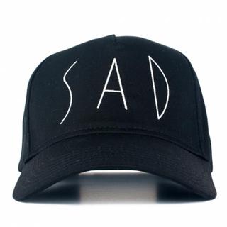 エルエイチピー(LHP)のazs tokyo SAD CAP (黒)(キャップ)