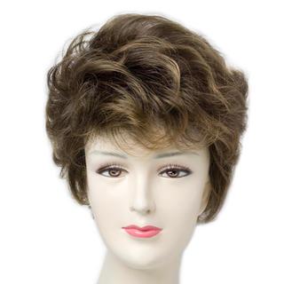 人毛の様に自然 女性用 フルウィッグ(ショートカール)