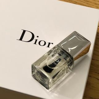 クリスチャンディオール(Christian Dior)のDior * ディオール * ジェルトップコート * ネイルエナメル(ネイルトップコート/ベースコート)