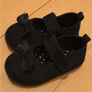 ニシマツヤ(西松屋)のフォーマル靴 リボンドット!14センチ(フォーマルシューズ)