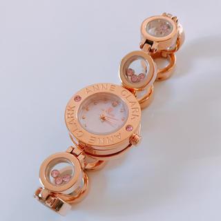 アンクラーク(ANNE CLARK)のANNE CLARK 腕時計 ピンク ゴールド(腕時計)