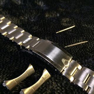 ロレックス(ROLEX)のRolexリベットブレス中古20ミリ(金属ベルト)