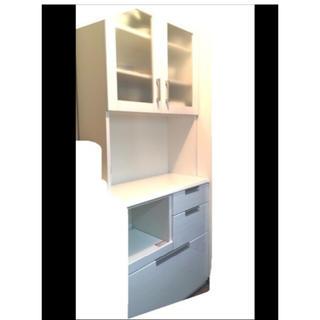 ニトリ(ニトリ)の食器棚 ニトリ 白 ホワイト(キッチン収納)