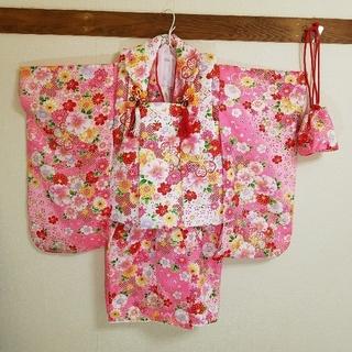 ☆☆もも様専用☆☆七五三 3歳 女の子 着物セット美品(和服/着物)