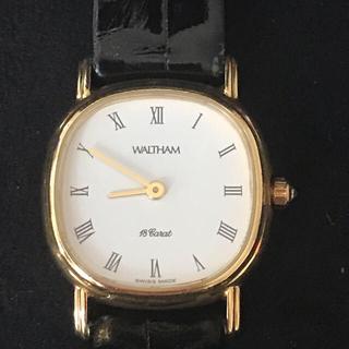 ウォルサム(Waltham)のウォルサム  18金 腕時計(腕時計)