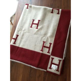 エルメス(Hermes)の【ご専用】Hermes 正規品 ブランケット アヴァロン 毛布(毛布)