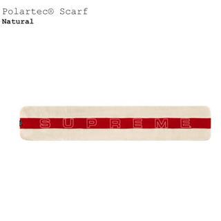 シュプリーム(Supreme)のSupreme polartec scarf ナチュラル(バンダナ/スカーフ)