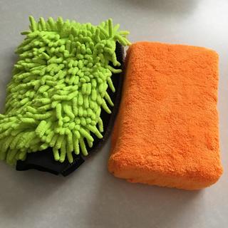 コストコ - マイクロファイバー洗車スポンジ