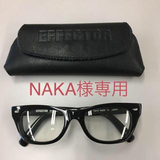 エフェクター(EFFECTOR)の【NAKA様専用】EFFECTOR distortion(サングラス/メガネ)