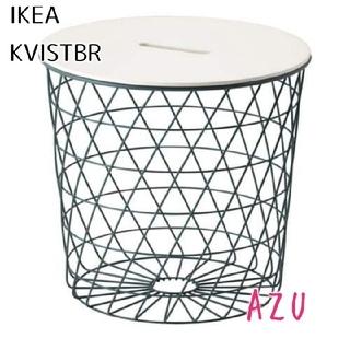 イケア(IKEA)のIKEA イケア ♡ KVISTBRO 収納テーブル ターコイズ(コーヒーテーブル/サイドテーブル)