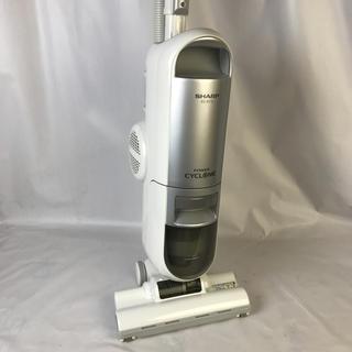 シャープ(SHARP)のSHARP 遠心分離サイクロン方式スティックタイプ シルバー系EC-ST12-S(掃除機)