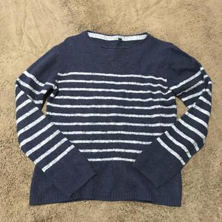 ムジルシリョウヒン(MUJI (無印良品))の無印良品 ボーダーセーター(ニット/セーター)