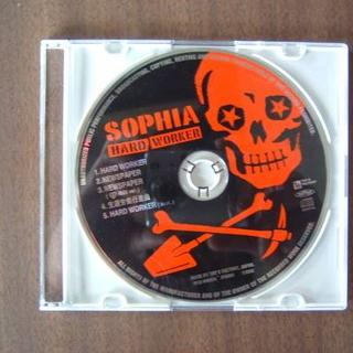 SOPHIA/18thSingle「HARD WORKER」ジャンクCDのみ(ポップス/ロック(邦楽))