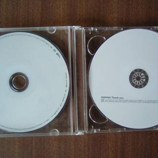SOPHIA/[ Thamk you][未だ見ぬ景色/手紙]ジャンクCDのみ2枚(ポップス/ロック(邦楽))