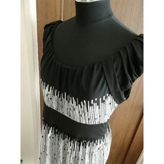 ビーシービージーマックスアズリア(BCBGMAXAZRIA)の maxandcleo  ワンピース ドレス Lサイズ(ひざ丈ワンピース)