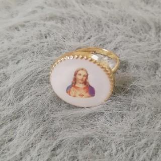 ロキエ(Lochie)の【SALE】vintage ring (white)(リング(指輪))