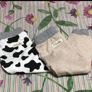 シマムラ(しまむら)の新品 ズボン2枚組  70cm(パンツ)