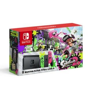 ニンテンドースイッチ(Nintendo Switch)の【6台セット】新品☆ニンテンドースイッチ 本体 スプラトゥーン2 同梱版(家庭用ゲーム機本体)