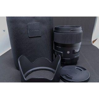 シグマ(SIGMA)の専用商品 SIGMA 35mm F1.4 DG HSM [キヤノン用] 並~良品(レンズ(単焦点))