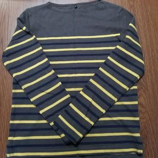 ムジルシリョウヒン(MUJI (無印良品))の無印良品 ボートネック ロンT  メンズ(Tシャツ/カットソー(七分/長袖))