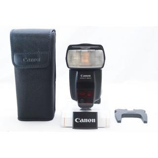 キヤノン(Canon)のCanon キャノン スピードライト SPEEDLIGHT 580EXⅡ(ストロボ/照明)
