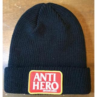 アンチヒーロー(ANTIHERO)のANTIHERO ニットキャップ 新品(ニット帽/ビーニー)