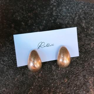 グリーンレーベルリラクシング(green label relaxing)の#354 import earings : vintage beans gold(イヤリング)